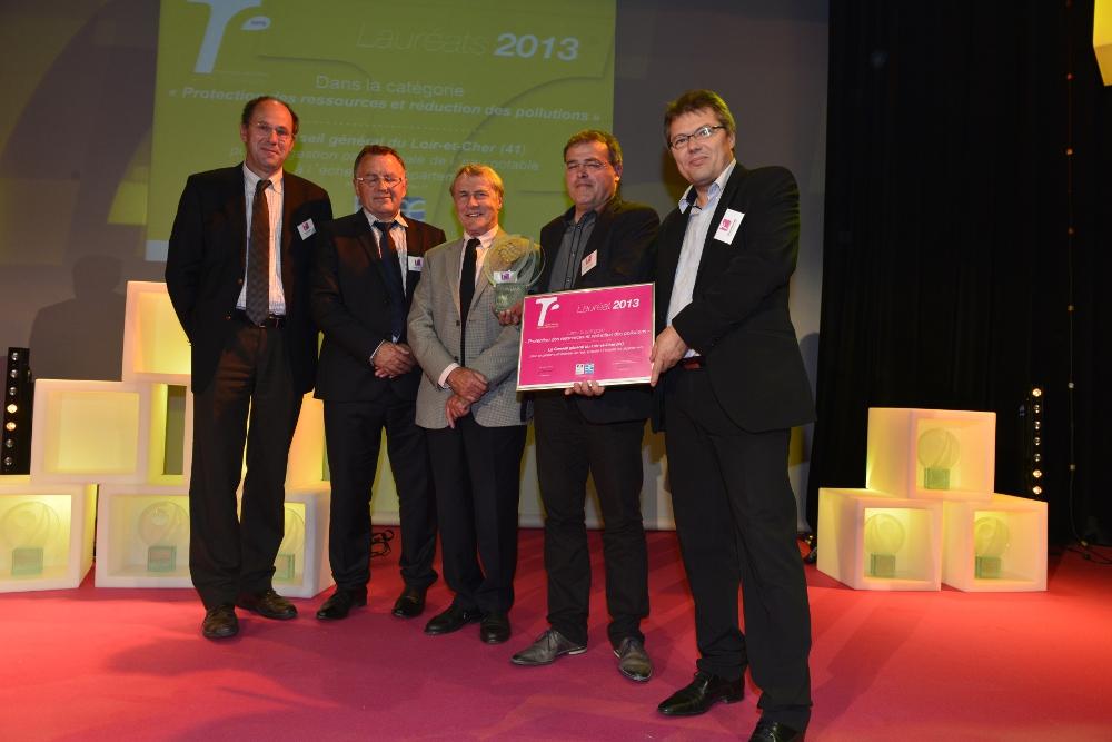 Le Conseil général et l'Observatoire de l'économie et des territoires de Loir-et-Cher récompensés